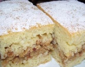 bayatlamayan elmalı kek