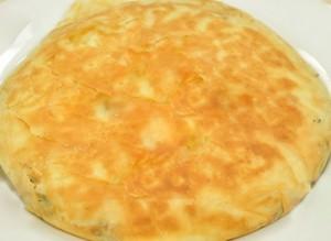 fırında patatesli tava böreği